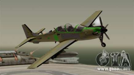 EMB-314 Super Tucano Factory USA para GTA San Andreas
