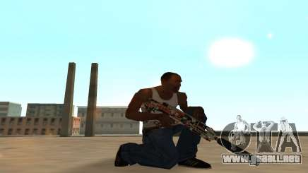 Asiimov Weapon Pack v2 para GTA San Andreas