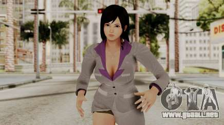Kokoro Business Suit para GTA San Andreas