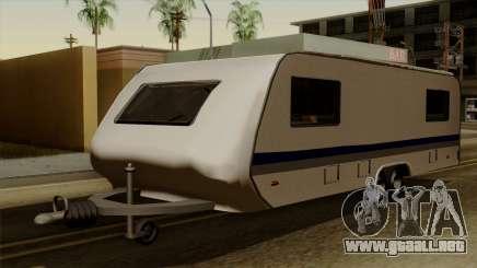 Camper Trailer para GTA San Andreas