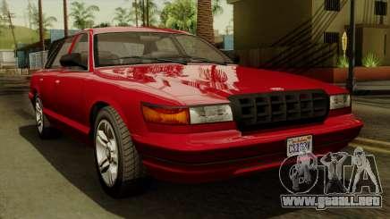 GTA 5 Vapid Stanier I IVF para GTA San Andreas