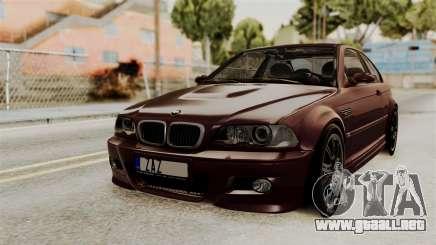 BMW M3 E46 2005 Stock para GTA San Andreas