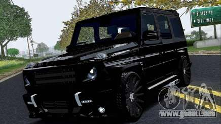 Mercedes Benz G65 Black Star Edition para GTA San Andreas