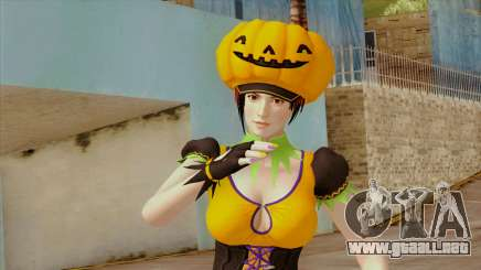 Dead or Alive 5 Mila Halloween para GTA San Andreas