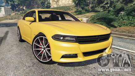 Dodge Charger RT 2015 v1.3 para GTA 5