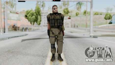 MGSV Phantom Pain Snake (Olive Drab Version) para GTA San Andreas segunda pantalla