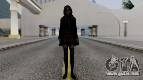 Final Fantasy Type 0 - Rem Tokomiya para GTA San Andreas segunda pantalla