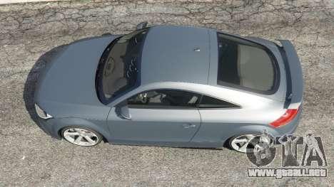 GTA 5 Audi TT RS 2013 vista trasera