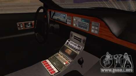 Chevy Caprice Station Wagon 1993- 1996 SAFD para la visión correcta GTA San Andreas