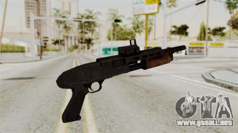 Shotgun from RE6 para GTA San Andreas segunda pantalla