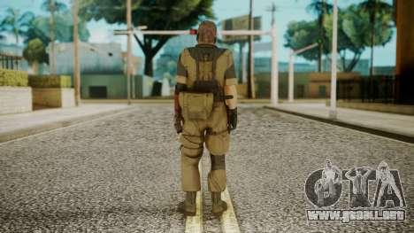 Venom Snake Olive Drab para GTA San Andreas tercera pantalla