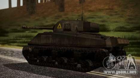 Sherman MK VC Firefly para GTA San Andreas left