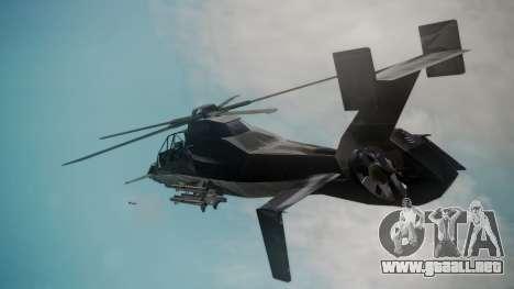 VAH-318 para GTA San Andreas vista posterior izquierda