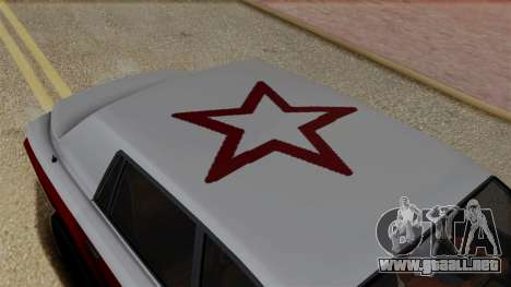 Morningstar Justice (Super Diamond) from SR3 para GTA San Andreas vista hacia atrás