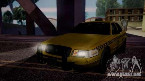Raccoon City Taxi from Resident Evil ORC para GTA San Andreas