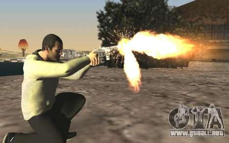 GTA 5 Tec-9 para GTA San Andreas sexta pantalla