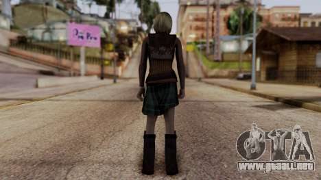 Resident Evil 4 Ultimate HD - Ashley Graham para GTA San Andreas tercera pantalla