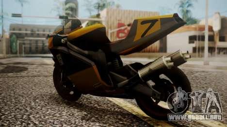 NRG-500 Number 7 Mod para GTA San Andreas left