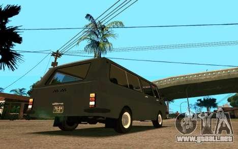RAF-2203 para la visión correcta GTA San Andreas
