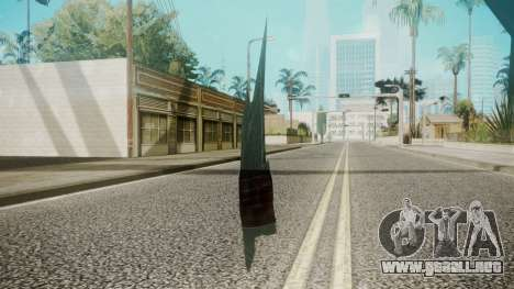 Glass Shard para GTA San Andreas segunda pantalla