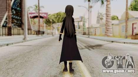 Kirito GGO Skin para GTA San Andreas tercera pantalla