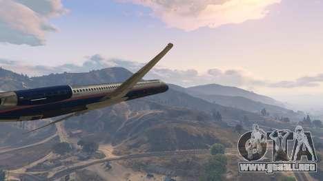 GTA 5 McDonnell Douglas MD-80 décima captura de pantalla