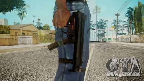 MP5 by EmiKiller para GTA San Andreas tercera pantalla