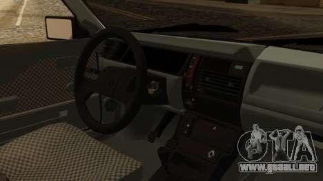 Renault 11 Perfil Bajo para la visión correcta GTA San Andreas