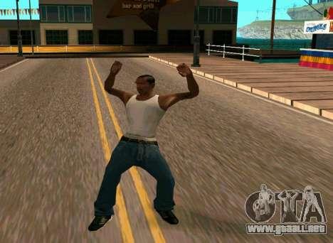 50 Animations v1.0 para GTA San Andreas tercera pantalla