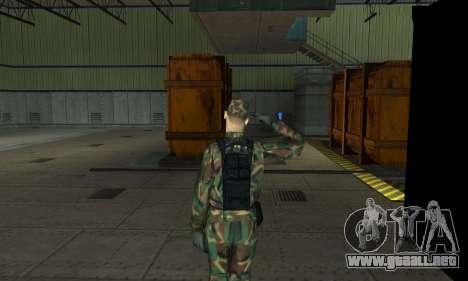 Militar saludo para GTA San Andreas