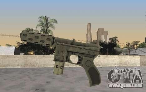 GTA 5 Tec-9 para GTA San Andreas segunda pantalla