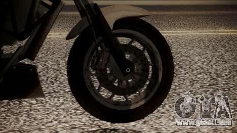 GTA 5 Dinka Thrust para GTA San Andreas vista posterior izquierda