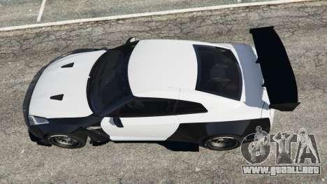 GTA 5 Nissan GT-R (R35) [RocketBunny] v1.2 vista trasera
