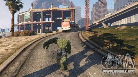 GTA 5 The Hulk quinta captura de pantalla
