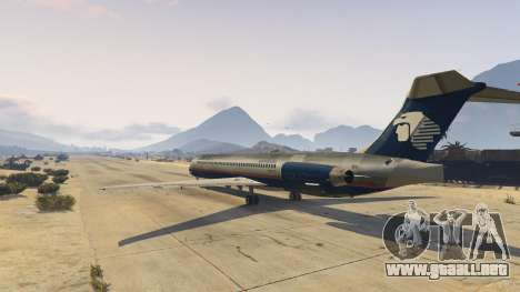 GTA 5 McDonnell Douglas MD-80 segunda captura de pantalla