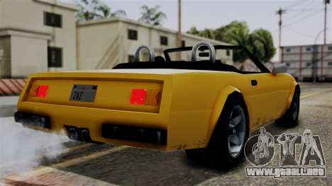 Stinger from Vice City Stories para GTA San Andreas left