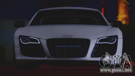 Audi R8 GT 2012 Sport Tuning V 1.0 para visión interna GTA San Andreas