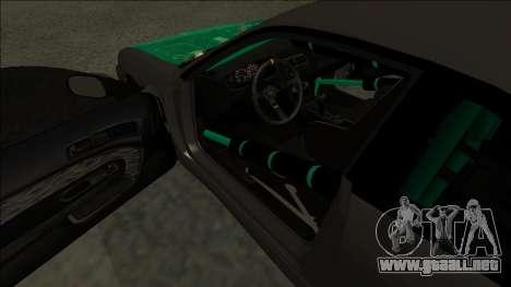 Nissan 200sx Drift para la visión correcta GTA San Andreas