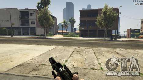 GTA 5 MW3 MP5 quinta captura de pantalla