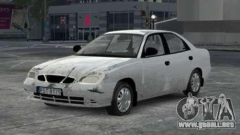 Daewoo Nubira II Sedan S PL 2000 para GTA 4 interior