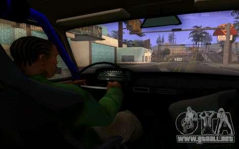 VAZ 2101 Coche para visión interna GTA San Andreas