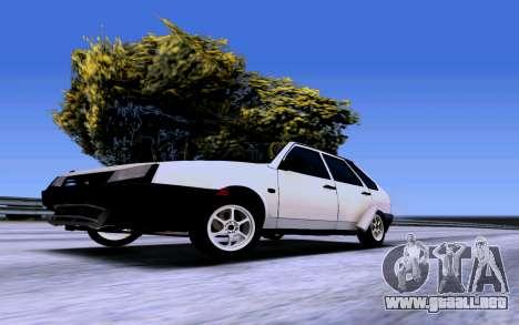 VAZ 2109 Turbo para la visión correcta GTA San Andreas