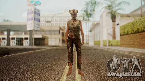 Clicker - The Last Of Us para GTA San Andreas segunda pantalla