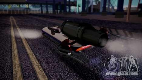 Hovercraft Vocaloid para GTA San Andreas left