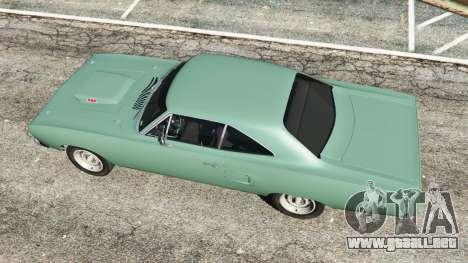 GTA 5 Plymouth Road Runner 1970 [fix] vista trasera