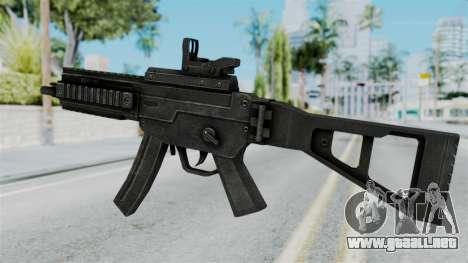 MP5 from RE6 para GTA San Andreas segunda pantalla