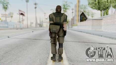 MGSV Phantom Pain Snake (Olive Drab Version) para GTA San Andreas tercera pantalla