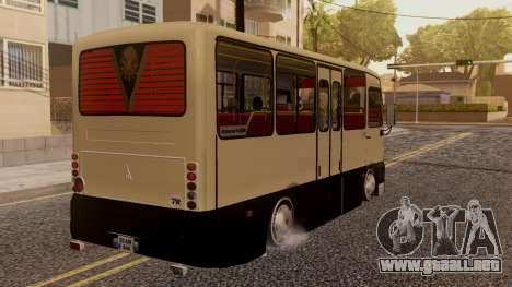 Otokar Magirus M2000 v2 para GTA San Andreas left