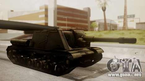 ISU-152 from World of Tanks para GTA San Andreas left