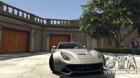 Ferrari F12 Berlinetta [LibertyWalk] v1.1 para GTA 5